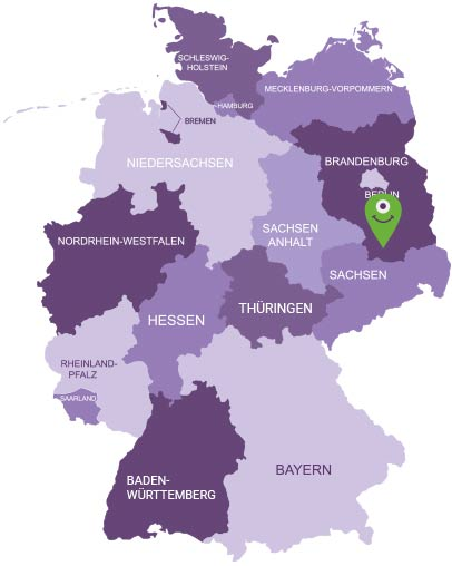 Karte Elbe-Elster-Land