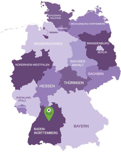 Karte Kraichgau
