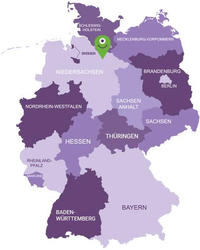 Karte Lüneburger Heide