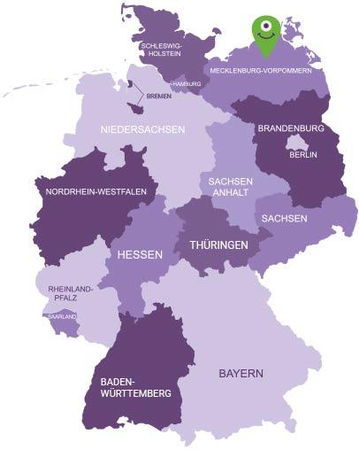 Karte Mecklenburgische Schweiz