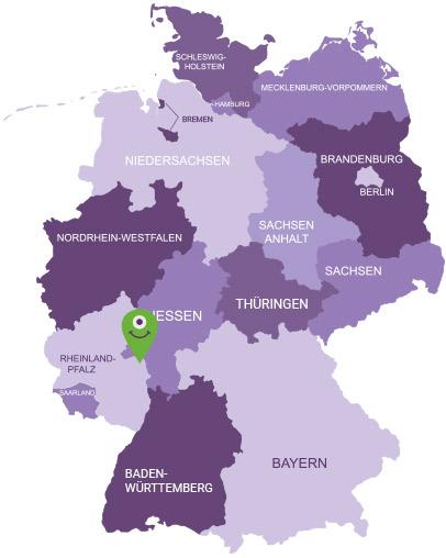 Karte Rheinhessen
