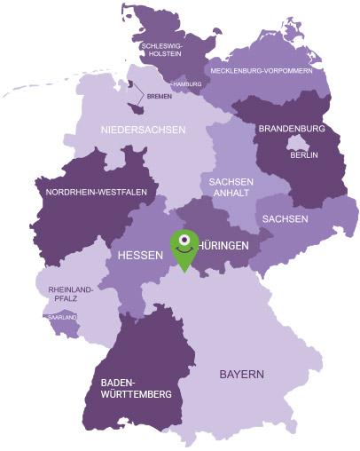 Karte Röhn