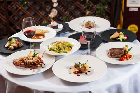 Inbegrif der gehobenen Esskultur - die französische Küche