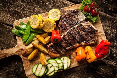 Fleischlastig - die Steakhausküche