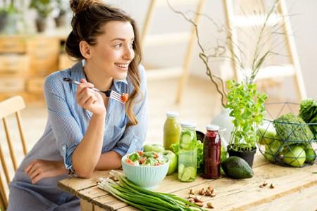 Gesundes Essen ist leicht und lecker!