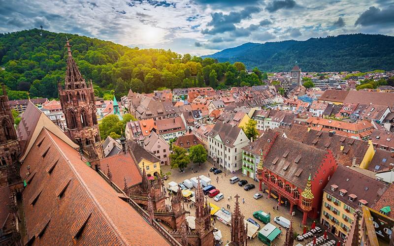 Freiburg im Breisgau - die südlichste Großstadt Deutschlands