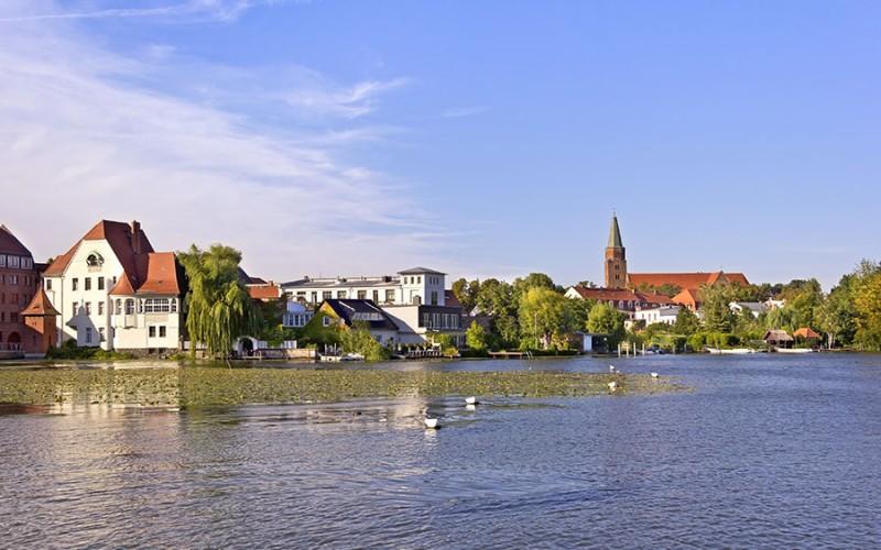 Blick auf Brandenburg an der Havel