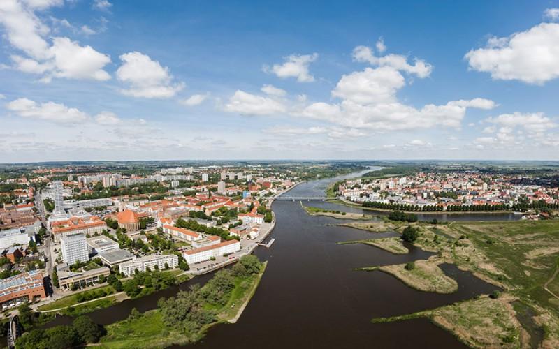 Drittgrößte Stadt in Brandenburg - Frankfurt an der Oder