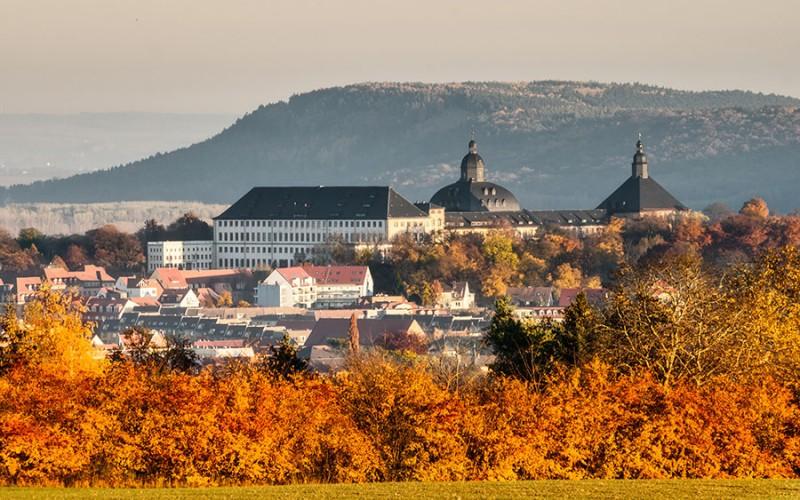 Sicht auf die ehemalige Residenzstadt Gotha