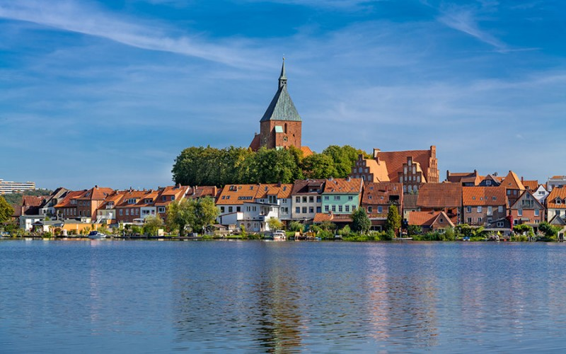 Ein Blick auf die Till-Eulenspiegel-Stadt Mölln