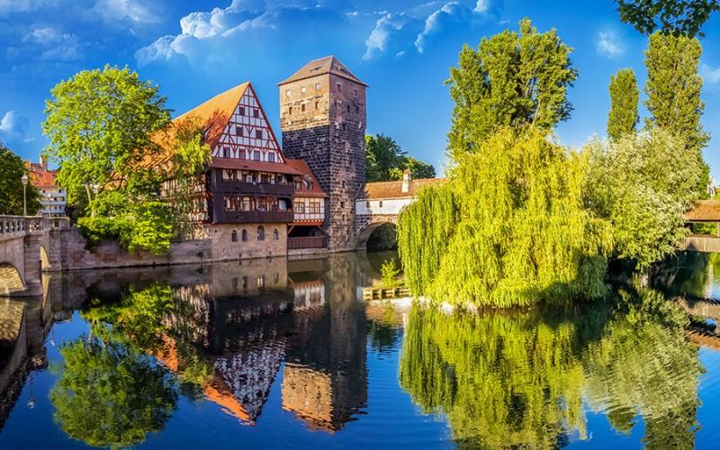 Nürnberg bietet viele romantische Flecken