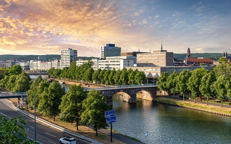 Saarbrücken ist die Hauptstadt des Saarlandes