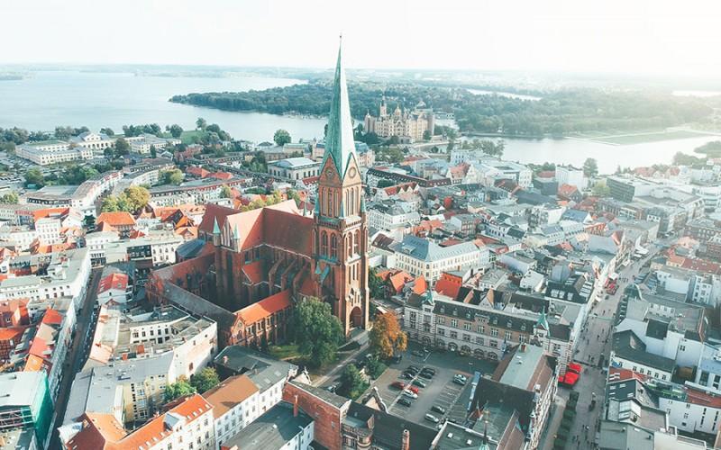 Sehenswerte Stadt an der Ostsee - Schwerin