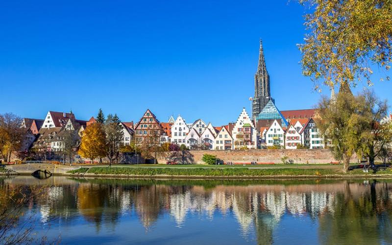 Ulm mit seinem berühmten Münster