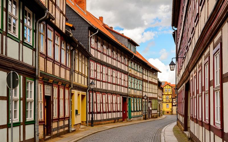 Die vielen gut erhaltenen Fachwerkhäuser prägen das Bild von Wernigerode