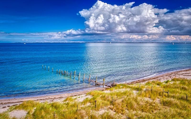 Traumhafte Strände mit viel Sonnenstunden bietet die Ferienregion Ostsee