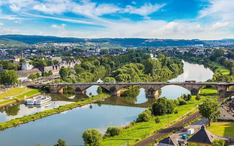 Panoramasicht auf Trier