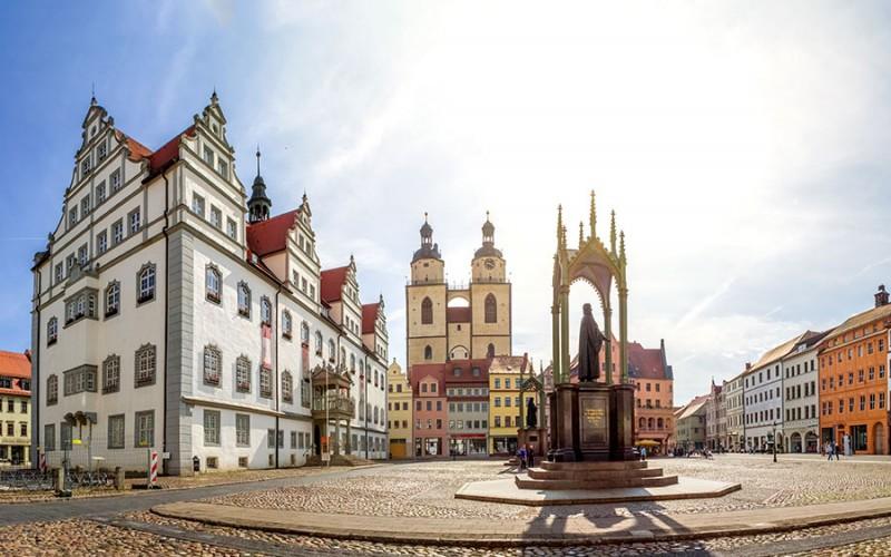 Die Stadt Wittenberg gilt als Wiege der Reformation