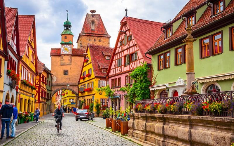 Eine Stadt wie aus dem Bilderbuch - Rothenburg ob der Tauber