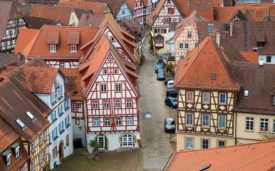 Die mittelalterliche Innenstadt von Bad Wimpfen
