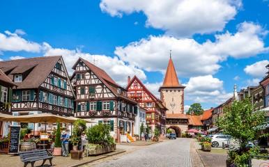 Historisches Kleinod ist die Innenstadt von Gengenbach