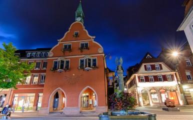 Blick auf das Alte Rathaus von Lahr